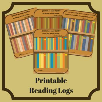 printable reading bookshelf log keep track of books read tpt