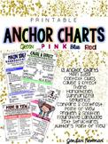 Printable Reading Comprehension Anchor Charts {COLOR BUNDLE}