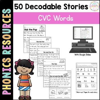 Printable Decodable Passages: Short Vowel Stories