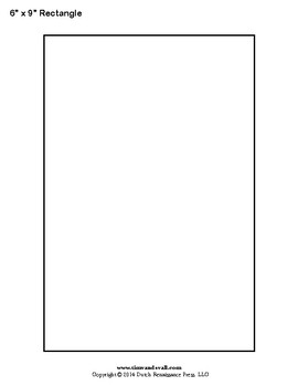Printable Rectangle and Square