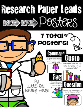 Printable Research Paper Leads