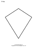 Printable Rhombus and Kite