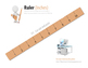 Printable Ruler: 10 inches, with 0.25inch increments.