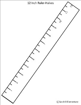Printable Rulers (To-Scale)