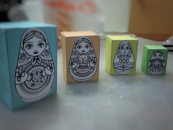 Printable Russian Nesting Doll (Box Version) (Matryoshka)