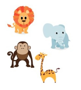Printable Safari Decor Pack