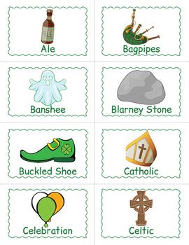 Printable Saint Patrick's Day BINGO Game