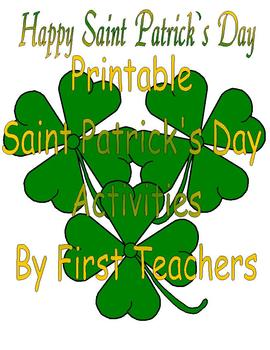 Printable Saint Patrick's Day Activities