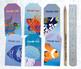 Printable Salt Water Fish Thank You Tags - 300dpi JPG Collage Sheet