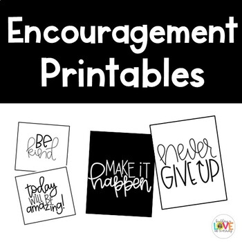 Printable Sayings for Posters, Notes, and More