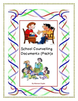 Printable School Counselling Documents (pack)