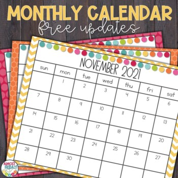 Printable School Year Calendar 2017-2018