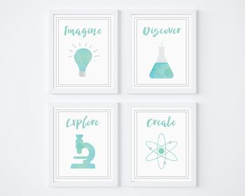 Printable Science Posters