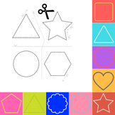 Printable Scissor Skills Practice Worksheets