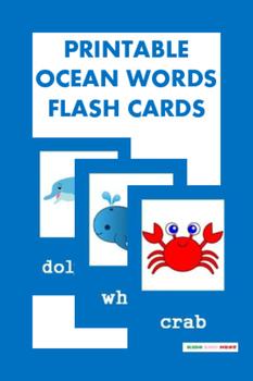 Printable Sea Animals Flash Cards