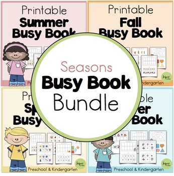 Printable Seasonal Busy Book Bundle