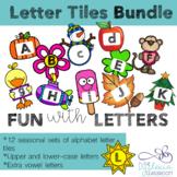 Printable Seasonal Letter Tiles Bundle