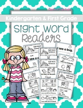 Printable Sight Word Booklets for the Entire School Year