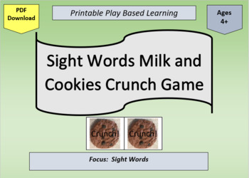 photo about Printable Cookies known as Printable Sight Term Milk and Cookies Crunch Activity