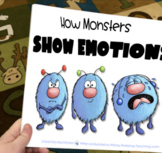Printable Social Story 1: How Monsters Show Emotions - Book and 5 Lessons