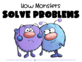 Printable Social Story 11 How Monsters Solve Problems SEL Story and 5 Lessons