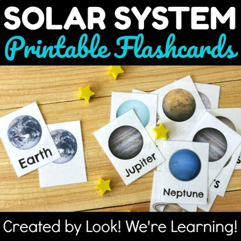 Printable Solar System Flashcards