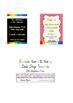 Printable Sound Chart for Writing Centres, Deskstrips, Home workbooks