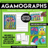 Printable Spring Agamograph Paper Craft {Zip-A-Dee-Doo-Dah Designs}