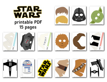 graphic regarding Printable Star Wars Images titled Printable Star Wars Picture Booth Props, Star Wars Bash Props, 0263