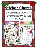 Printable Sticker Chart Collection