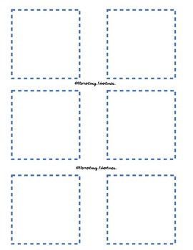 Printable Sticky Note Placement Mat