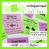 Teach Reading Strategies: Reading Fluency - Printable Stic