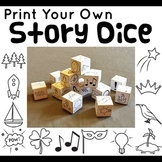 Printable Story Dice (Plus Graphic Organizers and Worksheets)