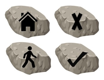 Printable Story Stones (used in Wit and Wisdom)
