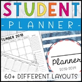 FREE Printable Student Planner - Student Binder - Calendar - Behavior Tracker