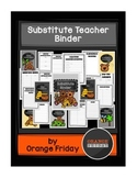 Printable Substitute Teacher Binder