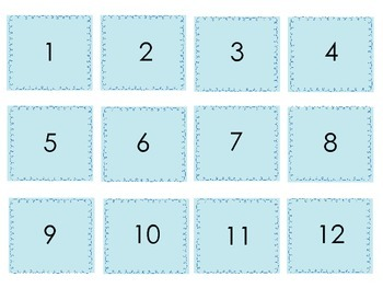 Printable Subtraction Flash Cards