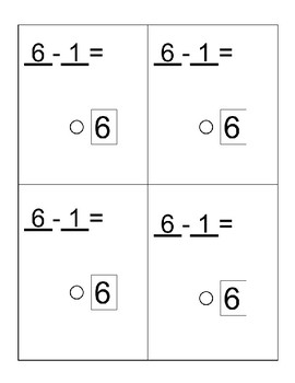 Printable Subtraction Strategy Cards- Math