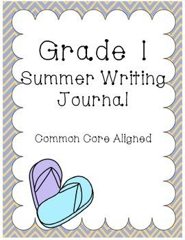 Printable Summer Writing Journal Grade 1