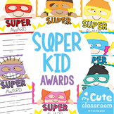 Printable Super Awards {Includes Text Editable}