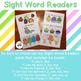 Printable Super Hero and Princess Sight Word Readers