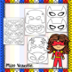 Printable Superhero Masks