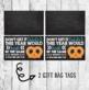 Printable A TEACHER Pretzel Gift Bag Tag Label