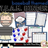 Printable TEAM Binder Bundle (EDITABLE)