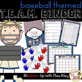 Printable TEAM Binder Bundle