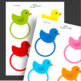 Printable Tags, Rubber Duck Printable, Labels, Name Tags - Classroom Decoration