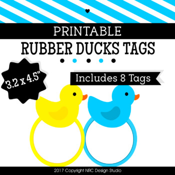 graphic relating to Rubber Ducky Printable titled Printable Tags, Rubber Duck Printable, Labels, Popularity Tags - Clroom Decoration