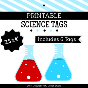 Printable Tags, Science Printable, Labels - Bulletin Board Decoration