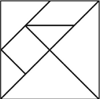 photo relating to Printable Tangram named Printable Tangram Template