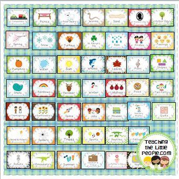 Printable Teacher Box Labels, Version Two